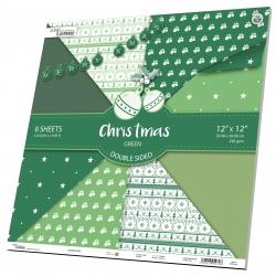 Christmas Green ¹²''ˣ¹²'' ⁸ ˢʰᵉᵉᵗ ²⁴⁰ᵍˢᵐ